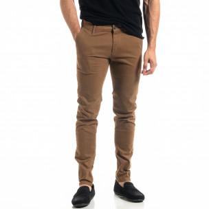 Pantaloni bărbați Bruno Leoni camel