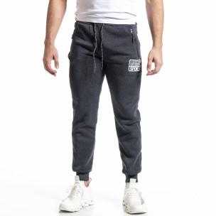 Pantaloni sport bărbați Nice gri