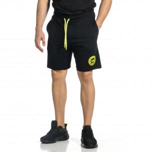 Pantaloni scurți bărbați Breezy negri