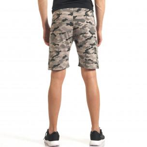 Pantaloni scurți bărbați Flex Stey camuflaj  2