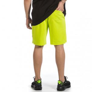 Pantaloni scurți bărbați 2512 verzi  2