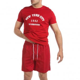 Costume de baie bărbați Primo&Secondo roșu