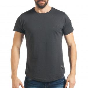 Tricou bărbați Madmext gri