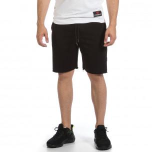 Pantaloni scurți bărbați 2512 negri  2