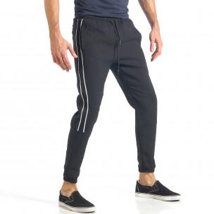 Pantaloni sport bărbați Giorgio Man negru