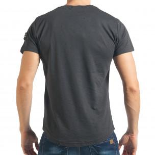 Tricou bărbați Madmext gri  2