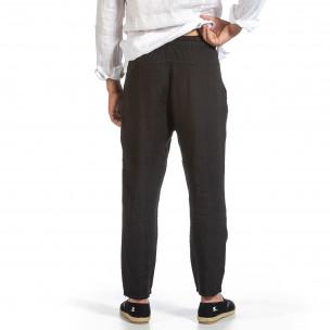 Pantaloni bărbați Duca Fashion negri 2