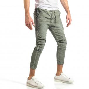 Pantaloni bărbați Y-Two verzi  2
