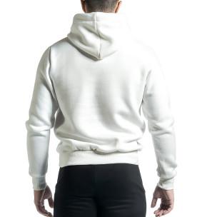 Hanorac bărbați YRO58 alb  2
