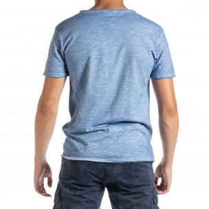 Tricou bărbați Duca Homme albastru 2