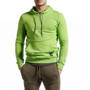 Hanorac bărbați Clang verde