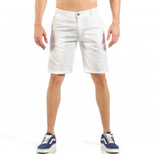 Pantaloni scurți de bărbați albi