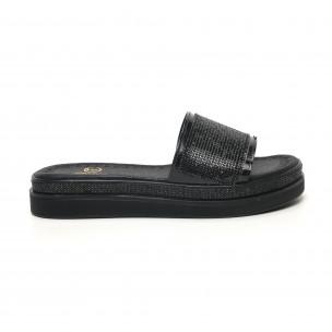 Papuci de dama Bodrum negri