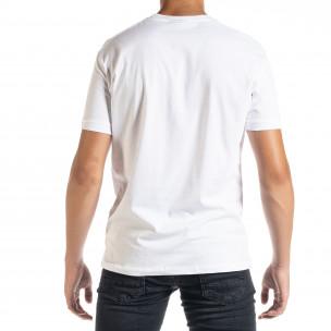 Tricou bărbați Freefly alb  2