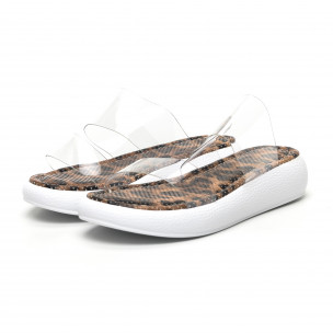 Papuci de dama Bodrum maro 2