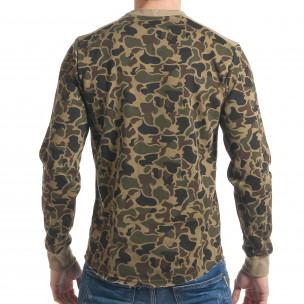 Bluză bărbați Bread & Buttons camuflaj  2