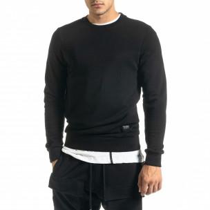 Bluză bărbați Clang neagră
