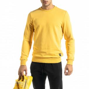 Bluză bărbați Clang galbenă