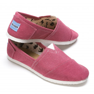 Espadrile bărbați Kruger roz 2