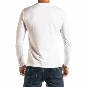 Bluză bărbați New Dream albă 2