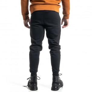 Pantaloni sport bărbați Alkimia negru  2