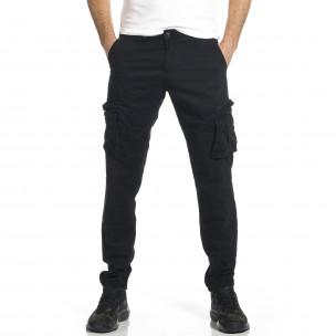 Pantaloni cargo bărbați Blackzi negri