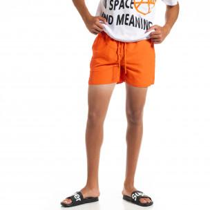 Costume de baie bărbați Basic orange