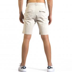 Pantaloni scurți bărbați Marshall bej  2