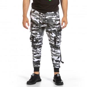 Pantaloni sport bărbați Adrexx camuflaj  2