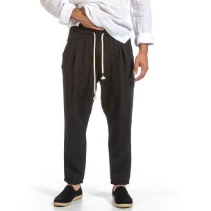 Pantaloni bărbați Duca Fashion negri