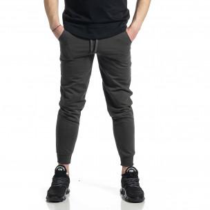 Pantaloni sport bărbați Soni Fashion verde