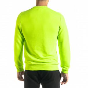 Bluză bărbați Clang verde  2