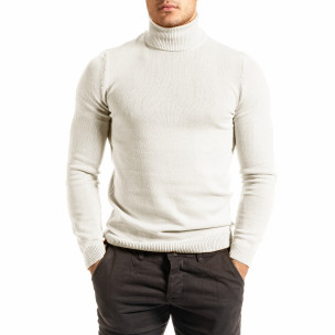 Pulover bărbați Lagos alb