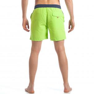 Costume de baie bărbați Austar Jeans verde  2