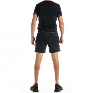 Set sportiv negru pentru bărbați Compass North's 2