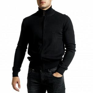 Pulover bărbați Code Casual negru