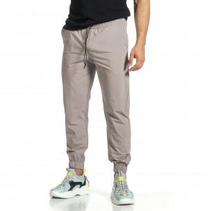 Pantaloni sport bărbați Breezy gri