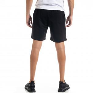 Pantaloni scurți bărbați North's negri  2