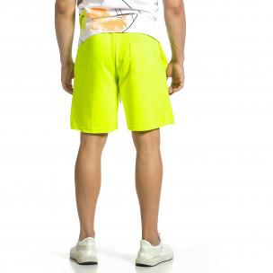 Pantaloni scurți bărbați Breezy galbeni  2