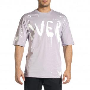 Tricou bărbați Breezy mov  2