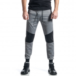 Pantaloni sport bărbați M&2 gri