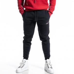 Pantaloni sport bărbați Sweet Years negru