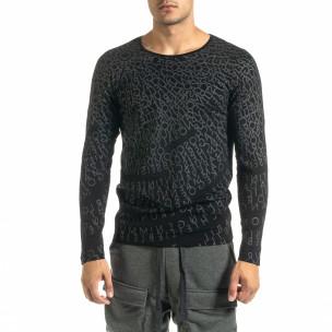 Bluză bărbați Lagos neagră