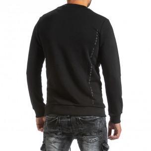 Bluză bărbați Breezy neagră  2