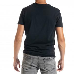Tricou bărbați Duca Homme negru 2