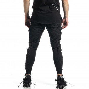 Pantaloni sport bărbați Adrexx negru  2