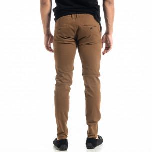 Pantaloni bărbați Bruno Leoni camel 2