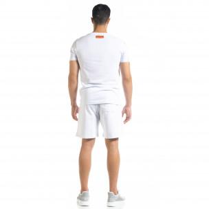 Set sportiv alb pentru bărbați Airplane  2