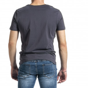 Tricou bărbați Breezy gri  2