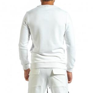 Bluză bărbați Breezy albă  2